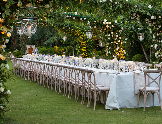 Secret garden anniversary party by mindy weiss loverly the
