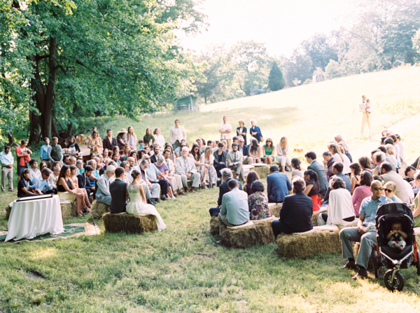 Beautiful Hay Bale Wedding Seating Contemporary - Styles & Ideas ...