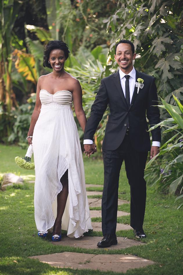 Elegant Ethiopian Wedding In A Geous Garden Loverly The
