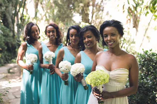 Elegant Ethiopian Wedding In A Gorgeous Garden Loverly