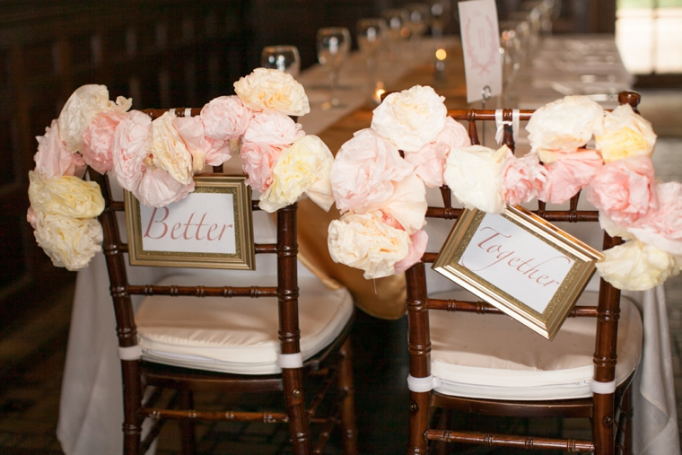 Vintage Romantic Blush and Gold Wedding – Loverly