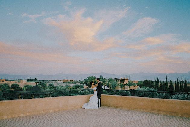38bbd3cf555c Beautiful Night Time Wedding in Morocco – Loverly