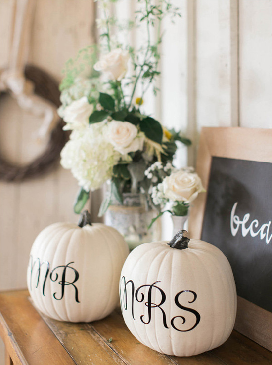 Green and White Fall Wedding Ideas – Loverly