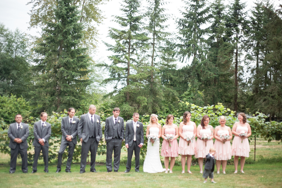 A Rustic Garden Wedding in Snohomish Washington – Loverly