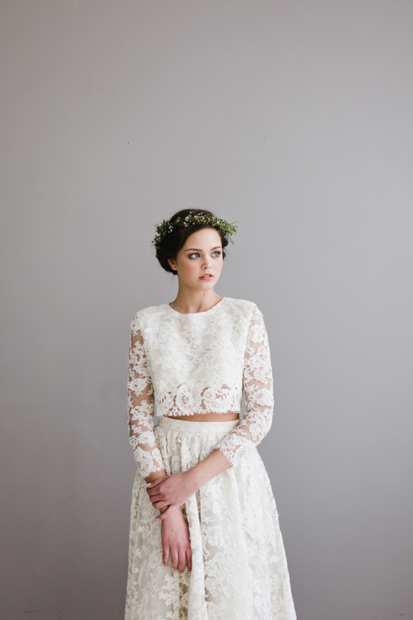 Modern & edgy bridal gowns from Houghton NYC | Loverly | The ...