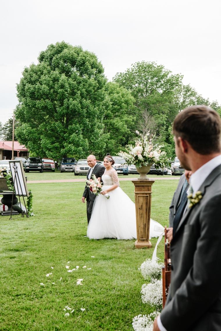 43fcac42e675 A Modern   Glamorous Garden Wedding – Loverly