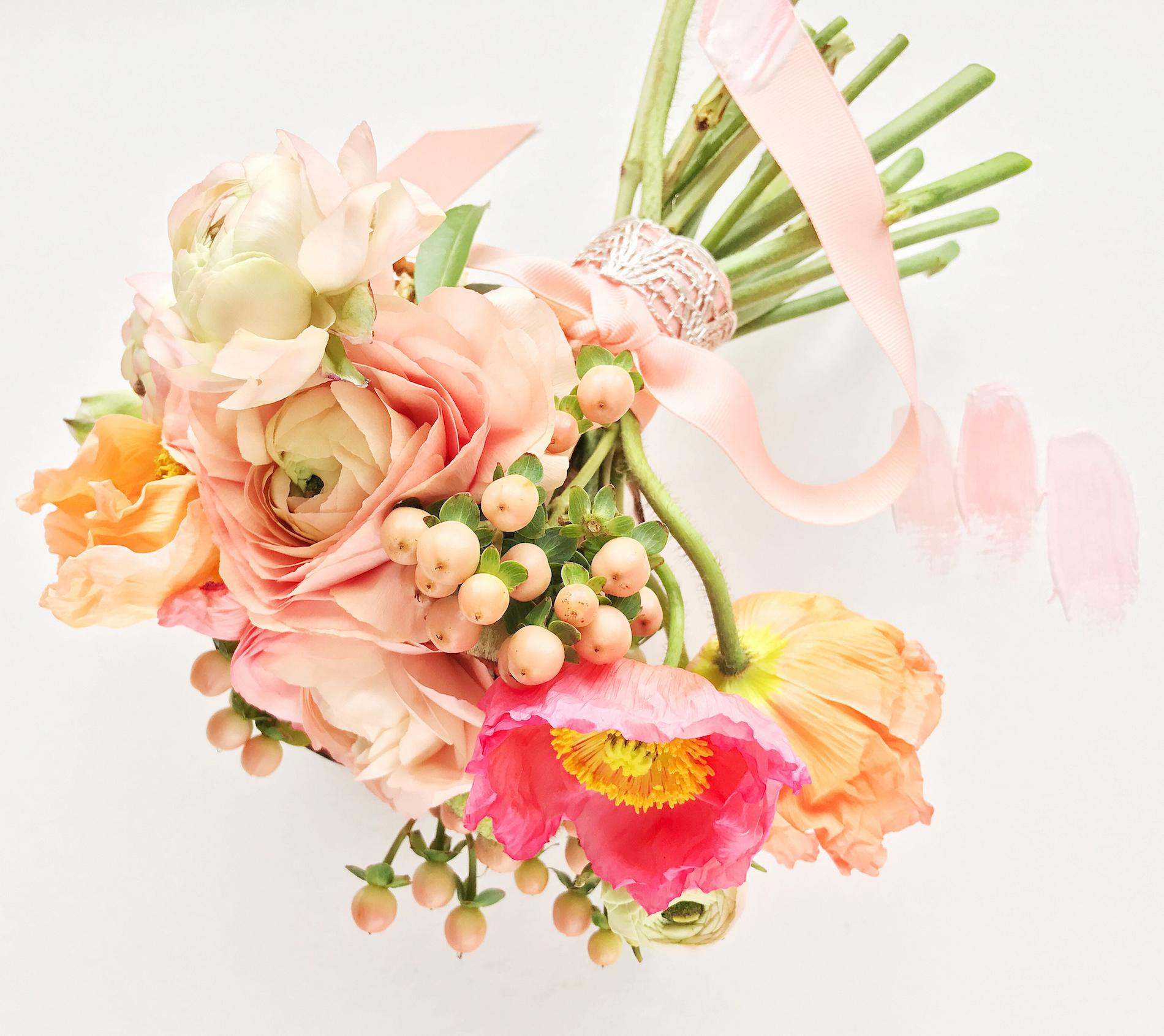 DIY wedding bouquet, momental designs DIY