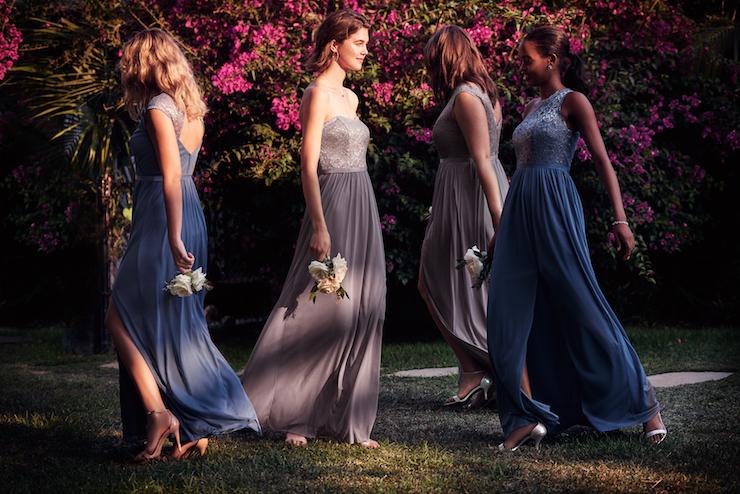 bridesmaid dresses, davids bridal