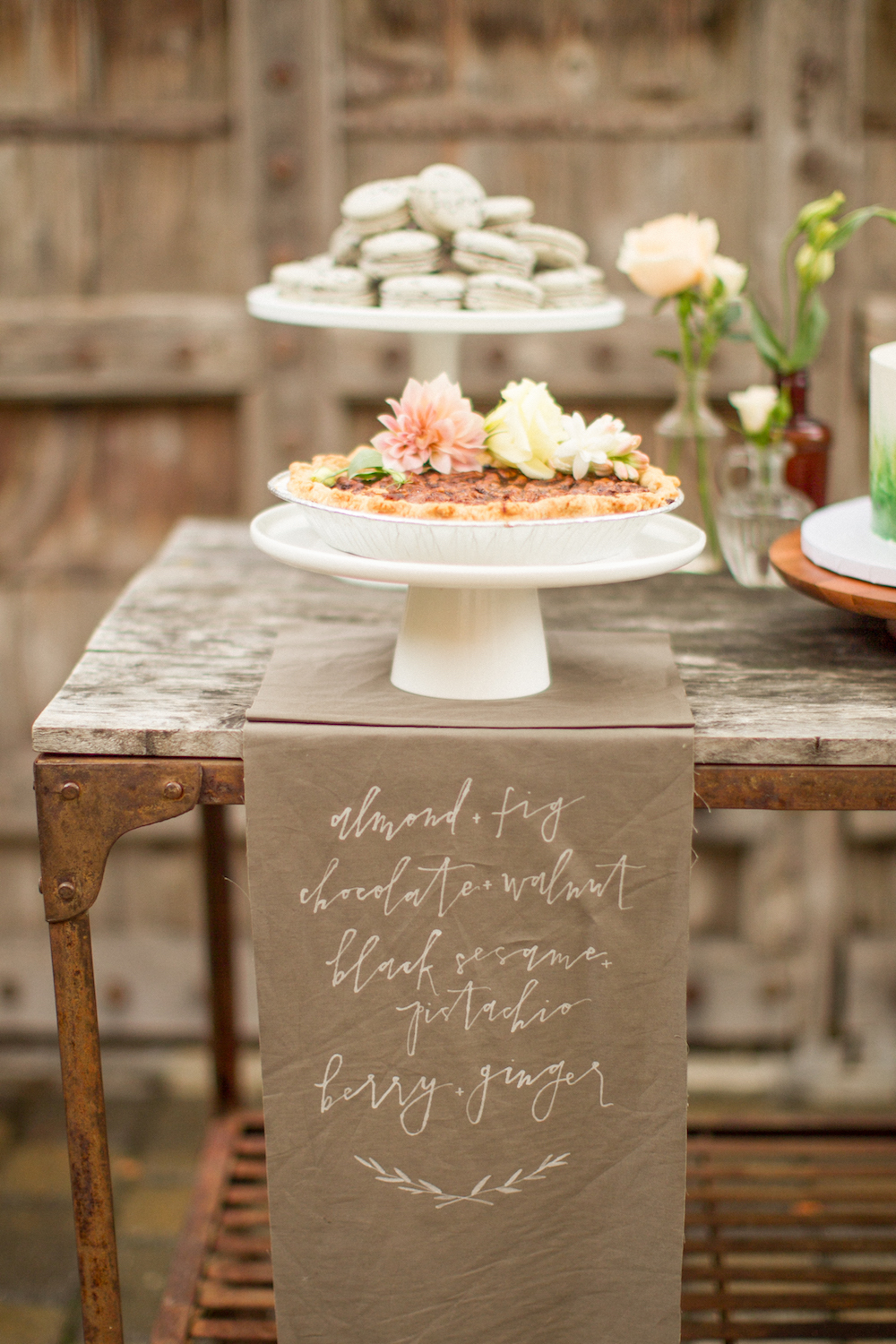 Cozy, Ethereal Wedding Inspiration at The General's Daughter, generals daughter wedding inspiration, wedding calligraphy