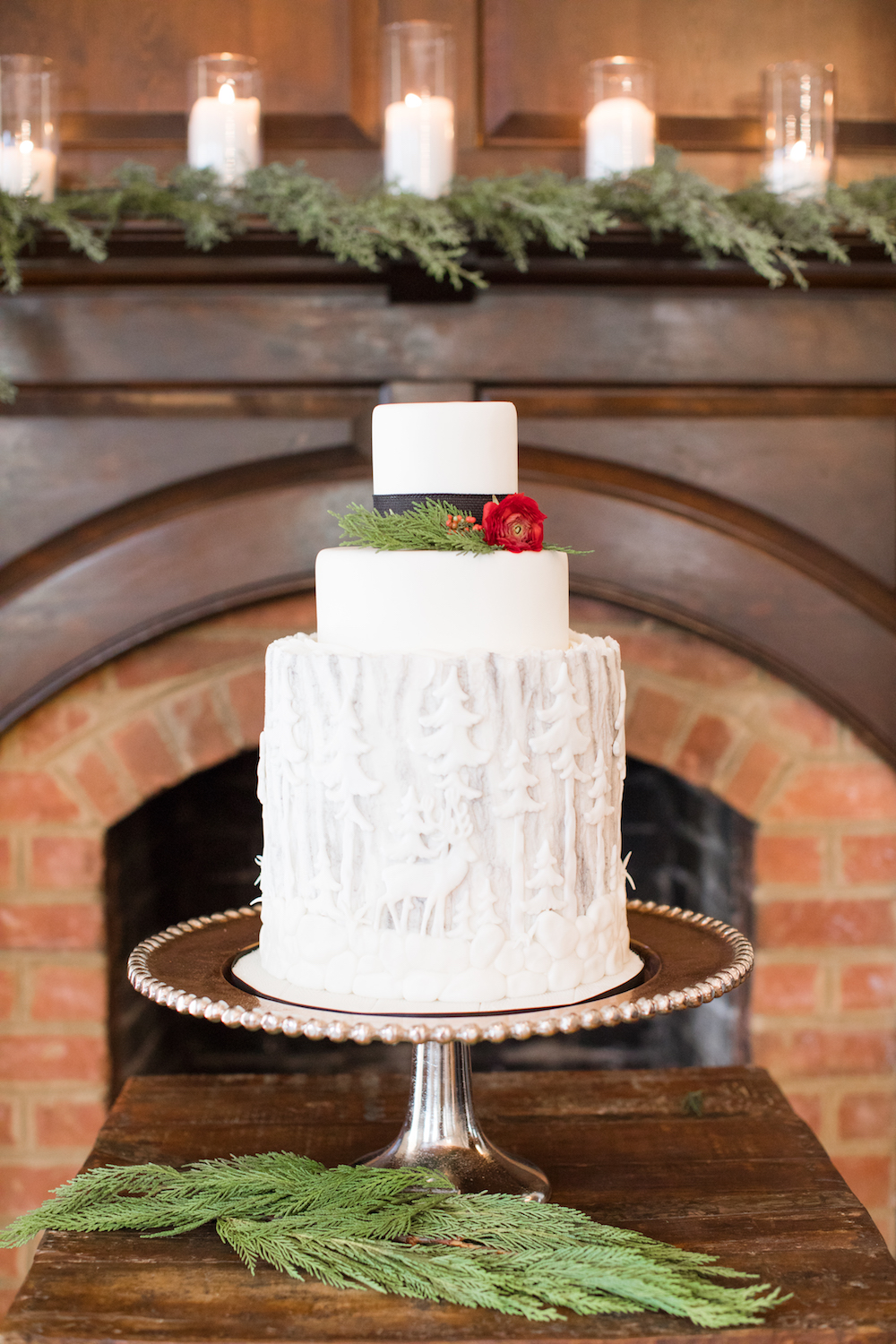 Winter Wonderland Wedding Inspo Complete With A Hot Cocoa Bar!
