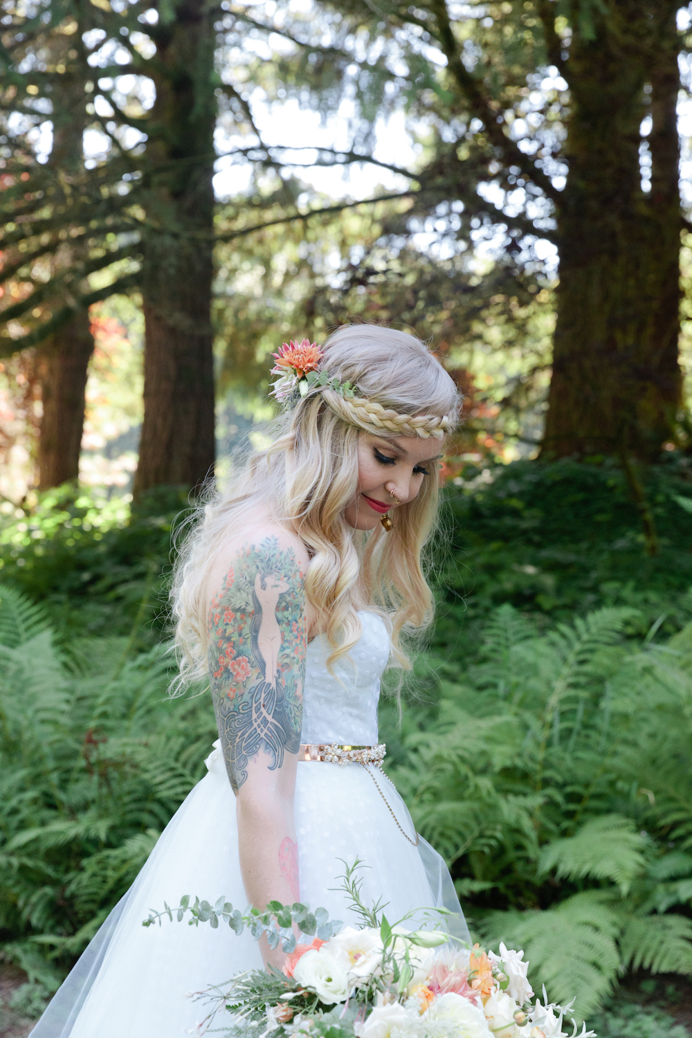 Boho Bridal Fashion Done Right, boho wedding fashion, bohemian bridal fashion, boho wedding braid