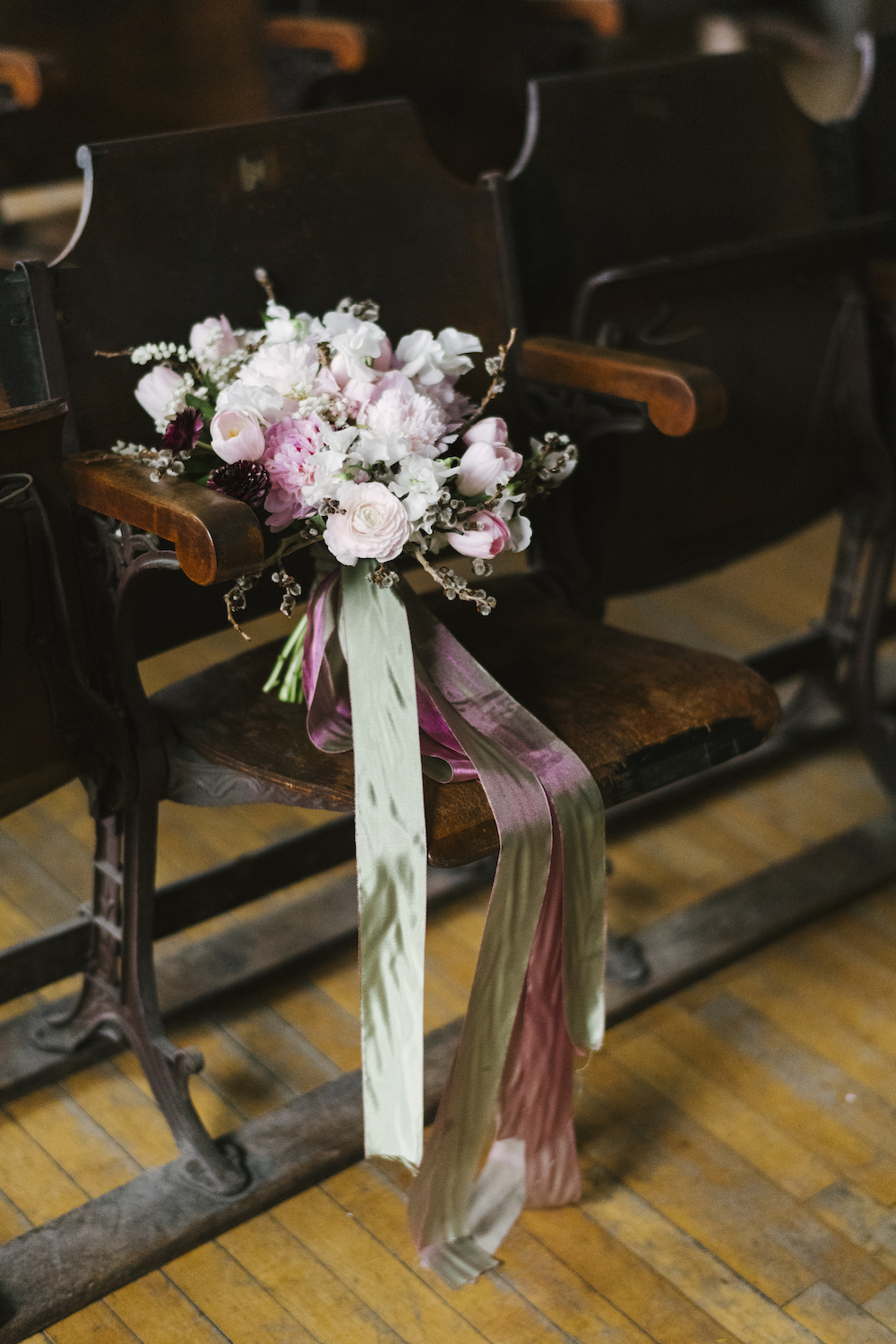Romantic Wedding At The Historic Hudson Opera House