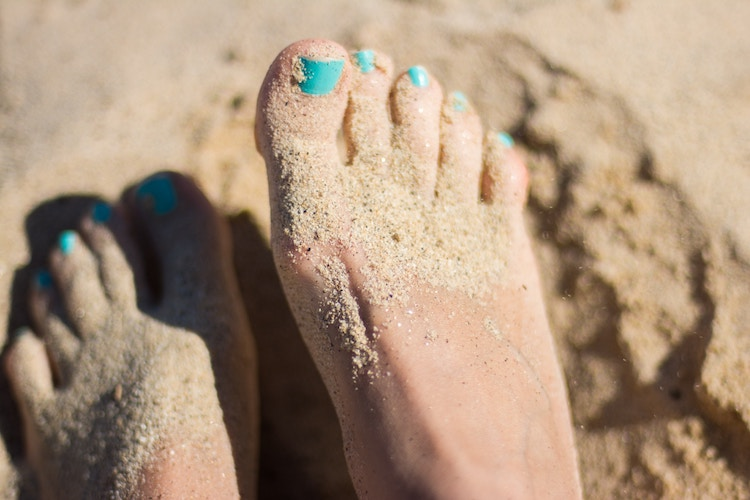 bridal beauty prep feet, prep your feet