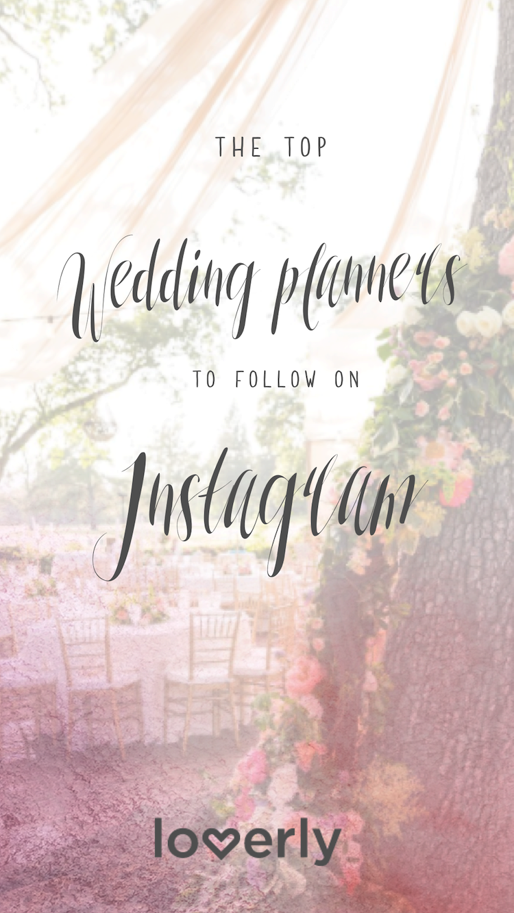 top instagram wedding planners, best wedding planners on instagram