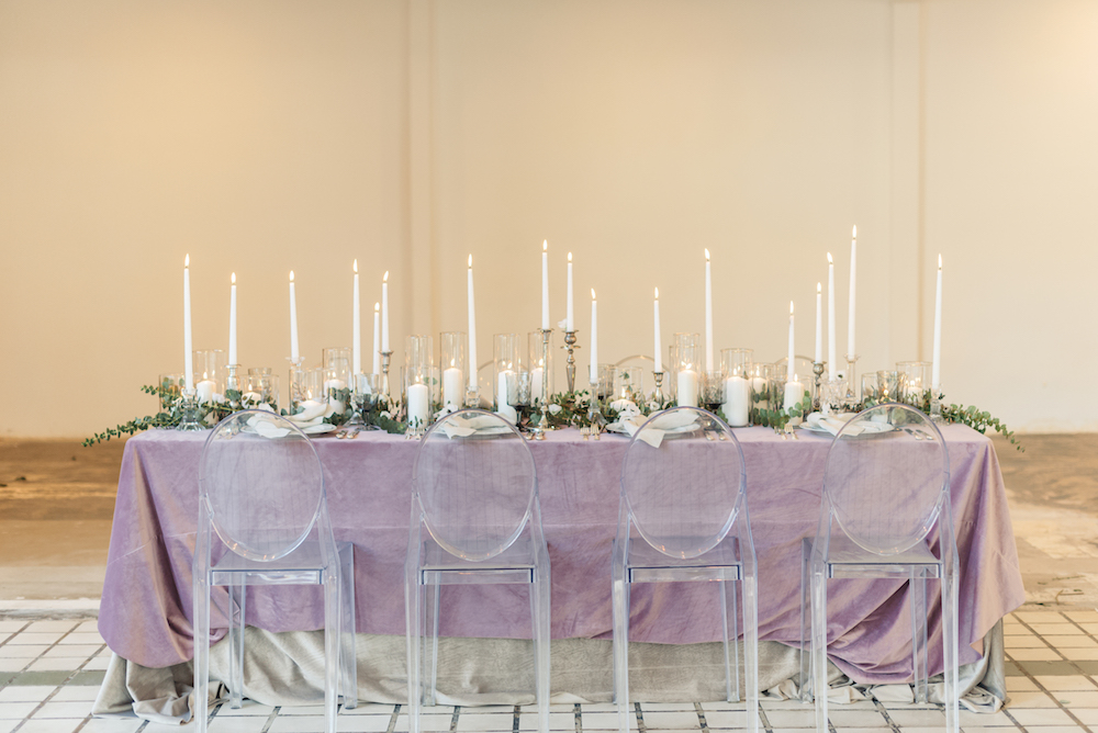 Modern and Romantic Wedding Inspiration Filled With Greenery, greenery pantone wedding, tablescape