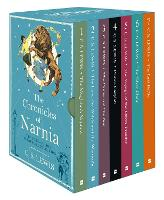 Cover for The Chronicles of Narnia box set by C. S. Lewis