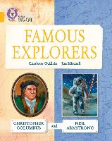 Cover for Great Explorers: Christopher Columbus and Neil Armstrong Band 09/Gold by Charlotte Guillain