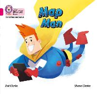 Cover for Map Man Band 01a/Pink a by Zoe Clarke