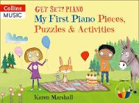 Cover for My First Piano Pieces, Puzzles & Activities by Karen Marshall