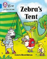 Cover for Zebra's Tent Band 04/Blue by Laura Hambleton
