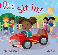 Cover for Sit in! Band 01a/Pink a by Clare Helen Welsh