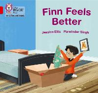 Cover for Finn Feels Better Band 02b/Red B by Jessica Ellis