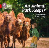 Cover for An Animal Park Keeper Band 02b/Red B by Anne Rooney