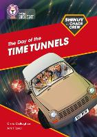 Cover for Shinoy and the Chaos Crew: The Day of the Time Tunnels Band 08/Purple by Chris Callaghan