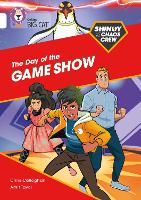 Cover for Shinoy and the Chaos Crew: The Day of the Game Show Band 10/White by Chris Callaghan