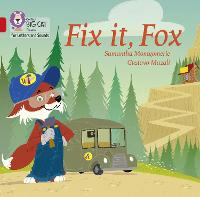 Cover for Fix it, Fox Band 02a/Red a by Samantha Montgomerie