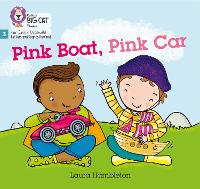Cover for Pink Boat, Pink Car Phase 3 by Laura Hambleton