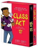 Cover for New Kid and Class Act: The Box Set by Jerry Craft