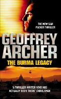 Cover for The Burma Legacy by Geoffrey Archer