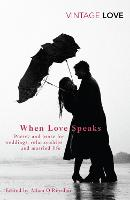 Cover for When Love Speaks  by Adam O'Riordan