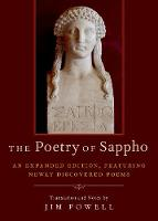 Cover for The Poetry of Sappho  by Jim Powell