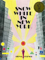 Cover for Snow White in New York by Fiona French