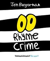 Cover for Rhyme Crime by Jon Burgerman