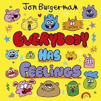 Cover for Everybody Has Feelings by Jon Burgerman