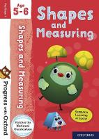 Cover for Progress with Oxford: Shapes and Measuring Age 5-6 by Sarah Snashall