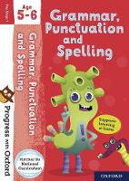 Cover for Progress with Oxford: Grammar, Punctuation and Spelling Age 5-6 by Jenny Roberts