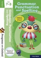 Cover for Progress with Oxford: Grammar and Punctuation Age 7-8 by Jenny Roberts