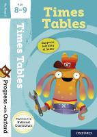 Cover for Progress with Oxford:: Times Tables Age 8-9 by Fiona Tomlinson