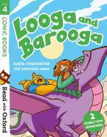 Cover for Read with Oxford: Stage 4: Comic Books: Looga and Barooga by Robin Etherington