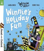 Cover for Read with Oxford: Stage 4: Winnie and Wilbur: Winnie's Holiday Fun by Laura Owen