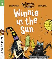 Cover for Read with Oxford: Stage 4: Winnie and Wilbur: Winnie in the Sun by Laura Owen