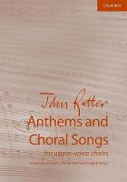 Cover for John Rutter  by John Rutter