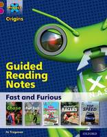 Cover for Project X Origins: Brown Book Band, Oxford Level 10: Fast and Furious: Guided reading notes by Jo Tregenza
