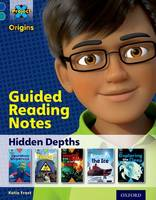 Cover for Project X Origins: Dark Blue Book Band, Oxford Level 16: Hidden Depths: Guided reading notes by Katie Frost