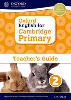 Cover for Oxford English for Cambridge Primary Teacher Guide 2 by Sarah Snashall