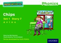 Cover for Read Write Inc. Phonics: Green Set 1 Storybook 7 Chips by Gill Munton